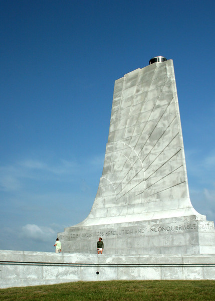Wright Brothers Memorial - Kitty Hawk