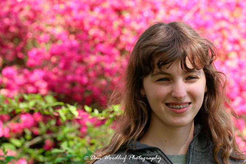 Portrait at Biltmore House gardens - Asheville