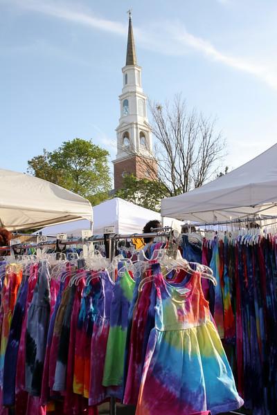 Street fair in Chapel Hill