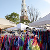 Street fair in Chapel Hill