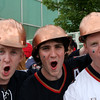 Visting Oiler Fans - Game 5 of 2006 Stanley Cup Finals - Raleigh, North Carolina