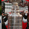 The Stanley Cup following the 2006 win by the Carolina Hurricanes - Durham