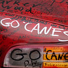 A local radio station placed this car at playoff games during the 2006 Stanley Cup run by the Carolina Hurricanes - Raleigh