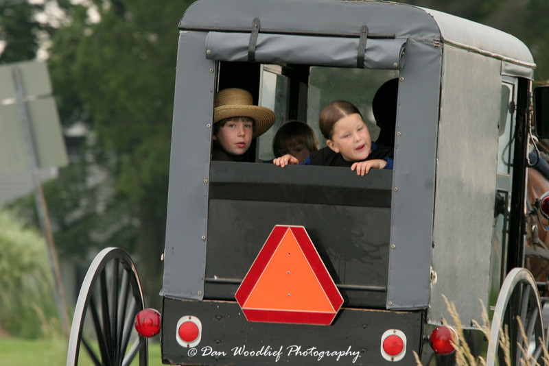 Amish Children - Lancaster County, Pennsylvania