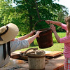 Historic actor and tourist - Colonial Williamsburg