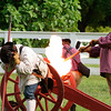 Cannon firing demonstration - Colonial Williamsburg