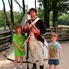 Revolutionary reenactor - Yorktown Battlefield