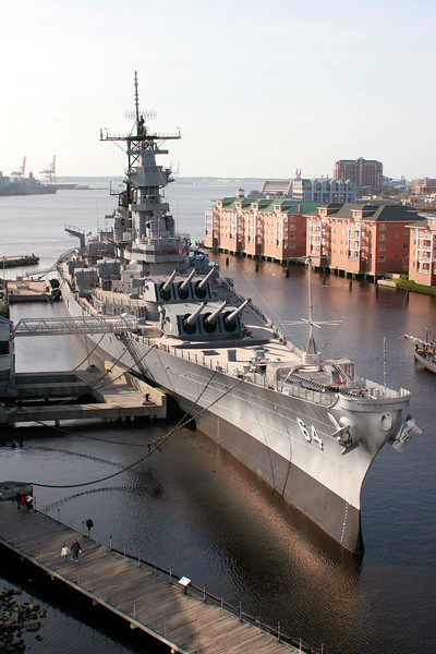 USS Wisconsin - Norfolk