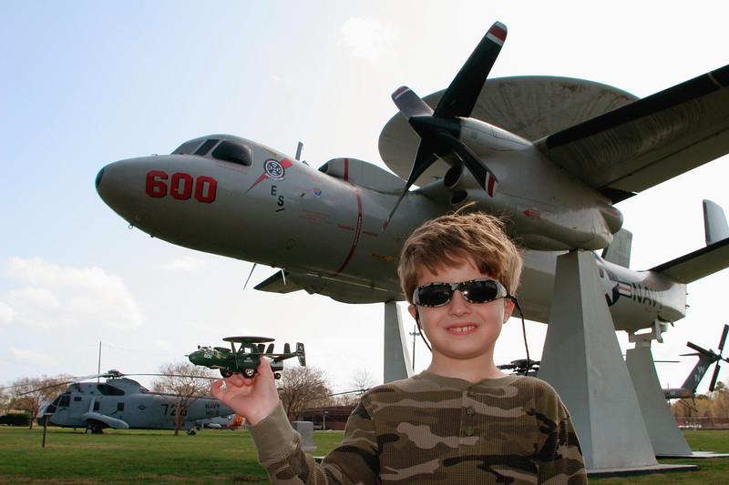 Airplane display - Norfolk Naval Base