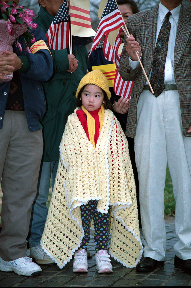 Vietnamese Girl - Vietnam Memorial, Washington, DC