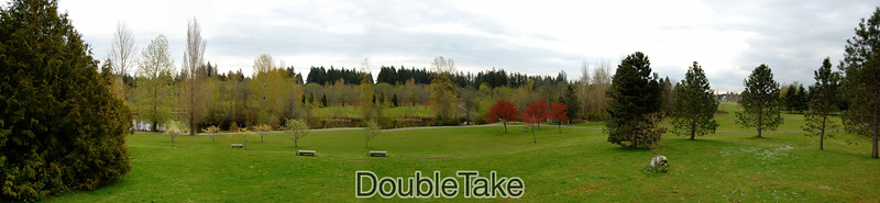 Panoramic of Battle Point created with DoubleTake.