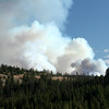 Forest Fire near Mt. Washburn