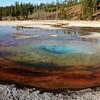 Morning Glory Pool - Upper Geyser Basin