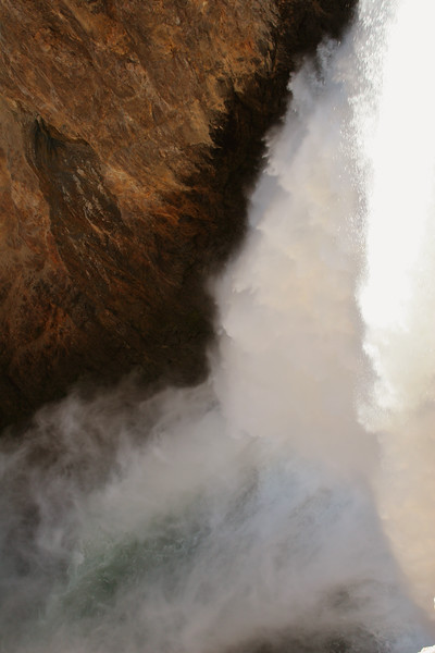 Lower Falls of the Yellowstone - Yellowstone National Park, Wyoming.