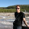 At Norris Geyser Basin