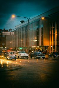 Vintage rain