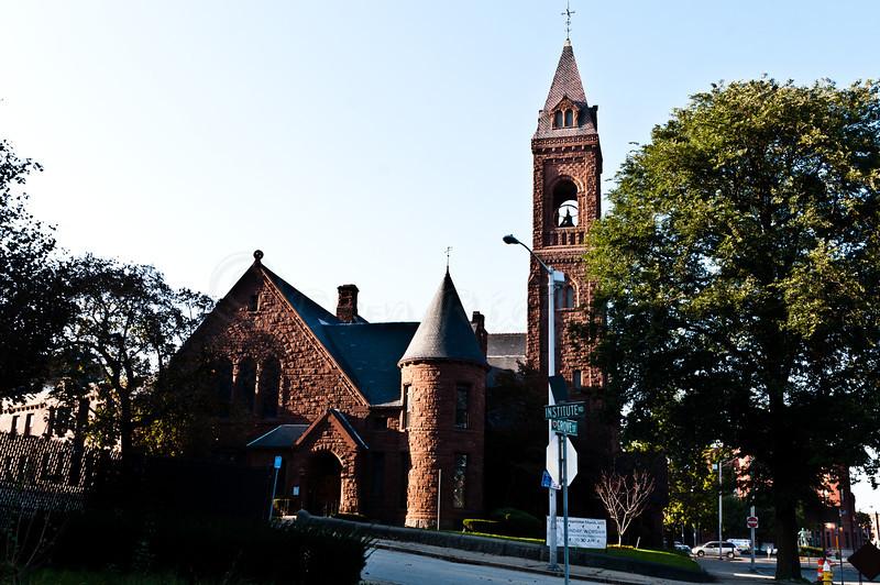 Congregational Church on Grove Street.