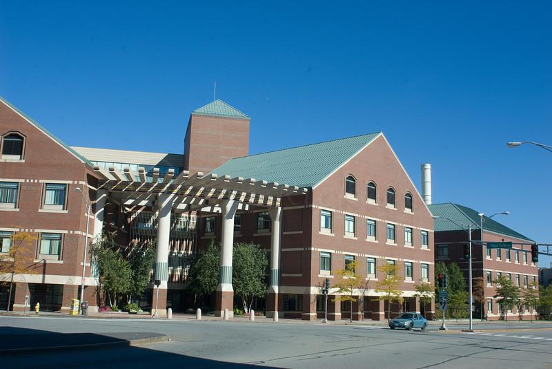 Saint Vincent Hospital, AKA Med City