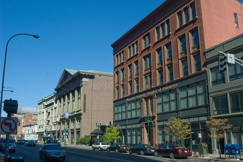 The Former Worcester Regional Chamber of Commerce (Burnside Building).