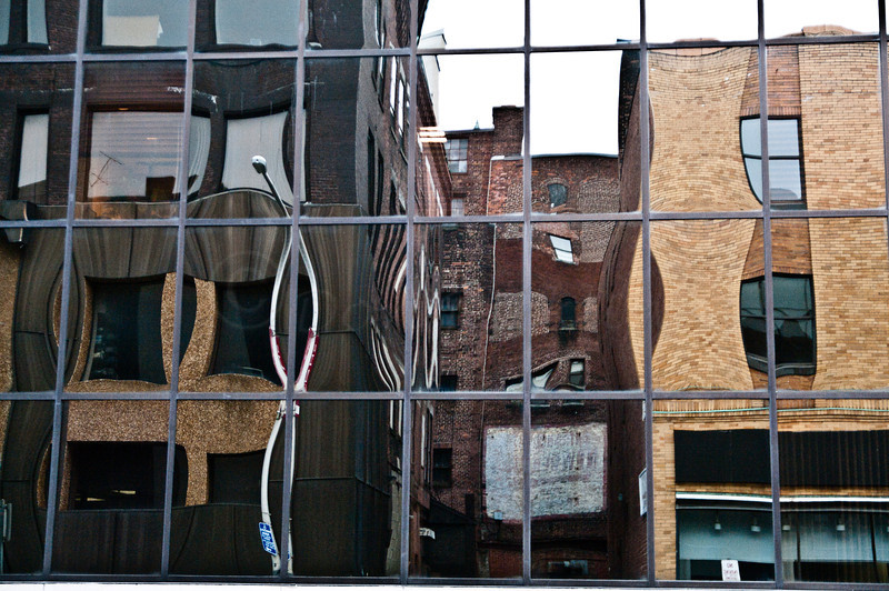 Mechanic Street reflections