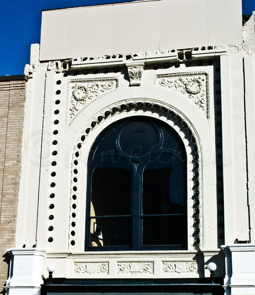 Hanover Theatre detail after renovation.