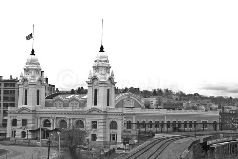 Union StationThe renovated Union Station, Worcester, MA from Medical City.