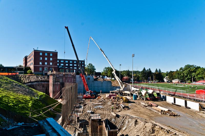 early construction at WPI.