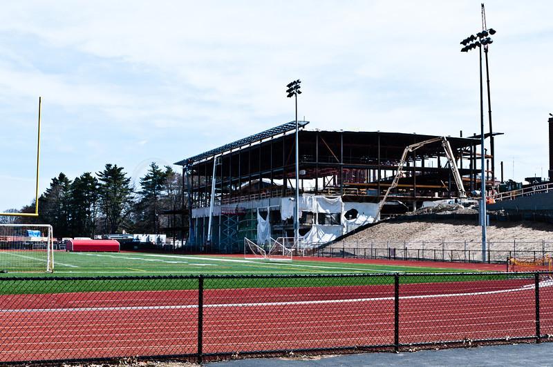The new Sports Center at WPI.