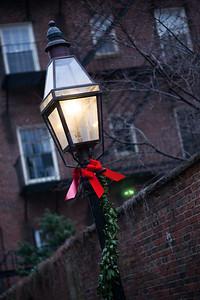 christmas decoration, beacon hill