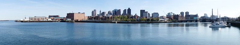 Boston, as seen from the Navy Yard