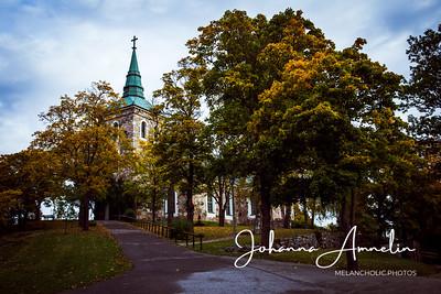 Salo Uskelan kirkko oravat syksy 059