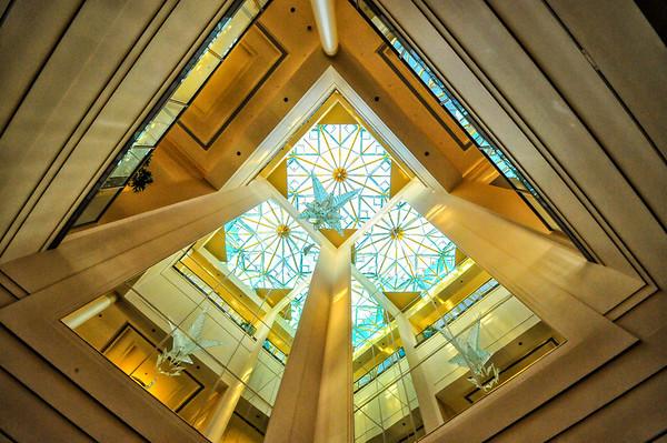 Skylight, Latter-Day Saints Conference Center, Salt Lake City