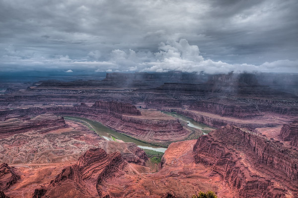 Dead Horse Canyon after a storm