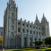 Latter Day Saints Temple in Salt Lake City