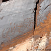 petroglyphs<br /> near Moab, Utah<br /> April 2009