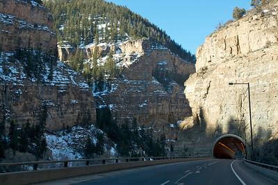 Glenwood Canyon Tunnel