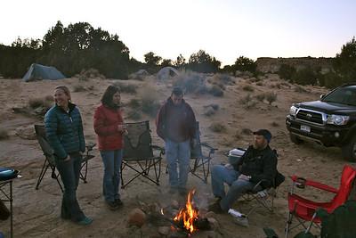 Campfire = essential!
