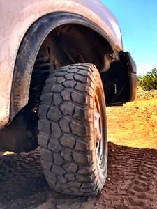 A tire