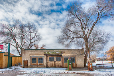 HDR of Scipio service station