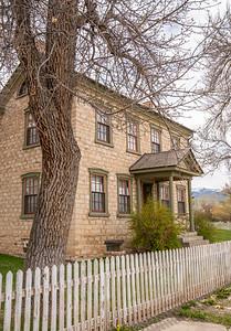 Orson & Mary Ann Hyde House, c. 1868