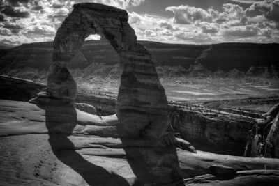 12 October 2013.  Arches National Park. Delicate Arch.