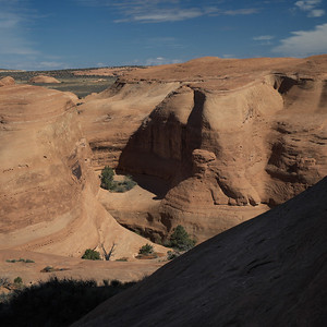 12 October 2013.  Arches National Park.  Along path to Delicate Arch.