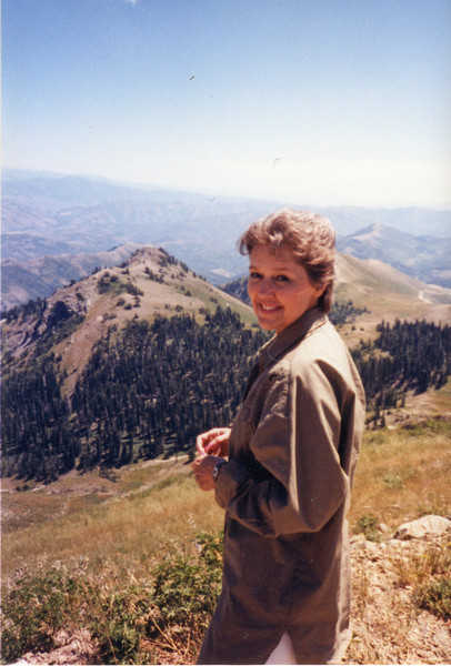 Ann at Francis Peak, UT