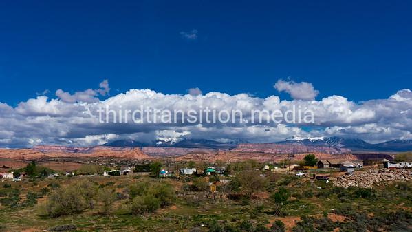 Moab's backdrop