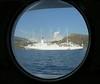 Neghboring ship through our porthole