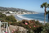 Laguna Beach from in front of Las Brisas