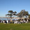 Wedding reception at La Jolla Cove