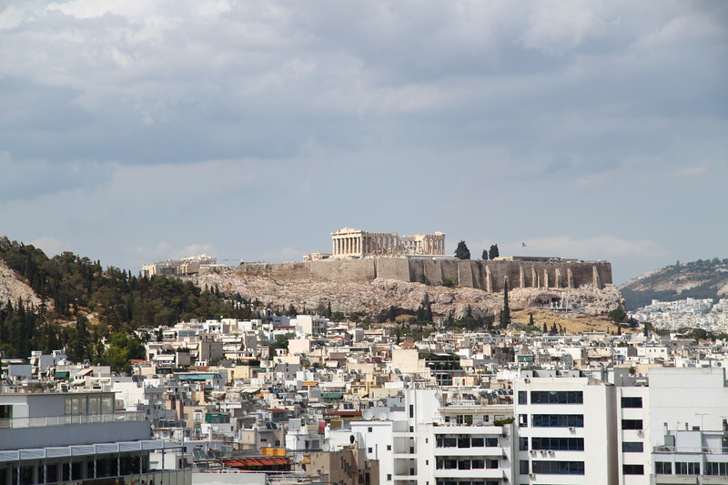 Acropolis from our hotel