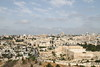 The walled city of Jerusalem from the Mount of Olives