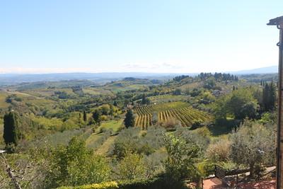 San Gimignano and Winery